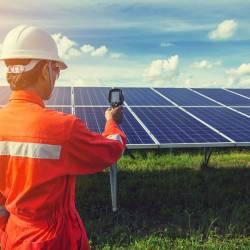 Ремонт и обслуживание солнечных электростанций