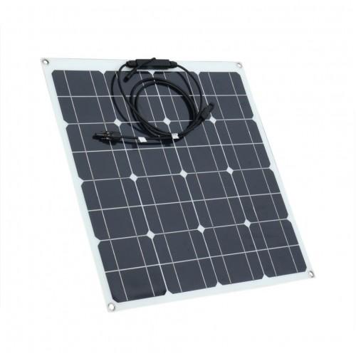 Напівгнучкий сонячний фотогальванічний модуль 100W Altek ALT-FLX-100