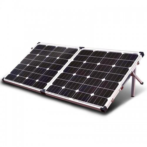 Сонячний розкладний фотогальванічний модуль з опорою 100W Altek ALT-SFP-100