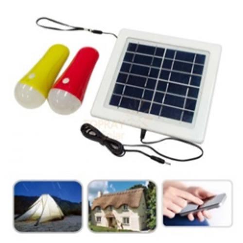 Сонячний зарядний пристрій з вбудованим акумулятором Altek ALT-SHL-3W