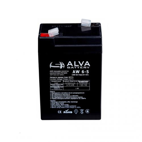 Акумуляторна батарея ALVA battery AW6-5