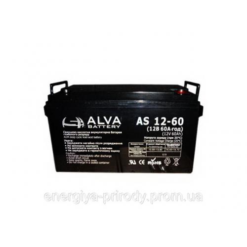 Аккумуляторная батарея ALVA battery AS12-60