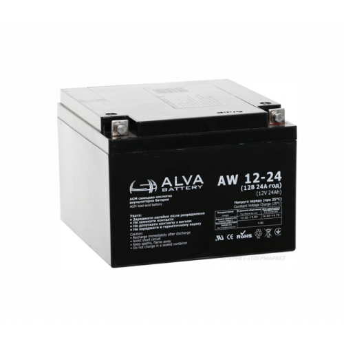 Аккумуляторная батарея ALVA battery AW12-24