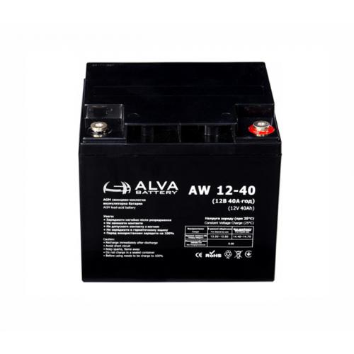 Аккумуляторная батарея ALVA battery AW12-40