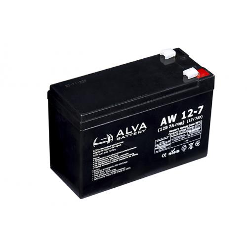Аккумуляторная батарея ALVA battery AW12-7