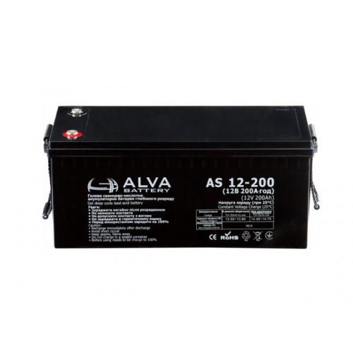 Акумуляторна батарея ALVA battery AS12-200
