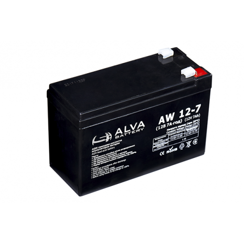 Акумуляторна батарея ALVA battery AW12-7