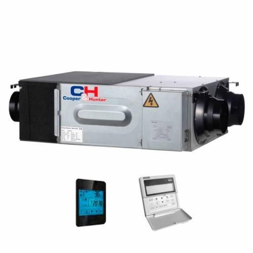 Припливно-витяжна установка з рекуперацією Cooper&Hunter CH-HRV2K2