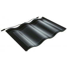Кровельные солнечные батареи Double Glass - black