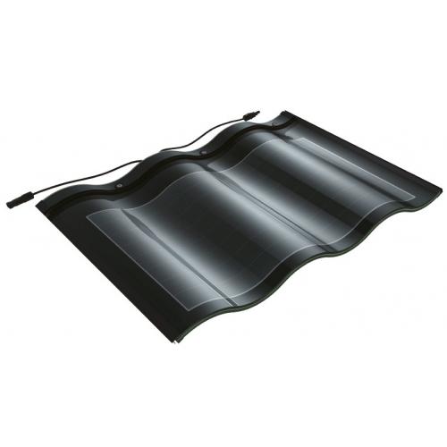 Покрівельні сонячні батареї Double Glass - black
