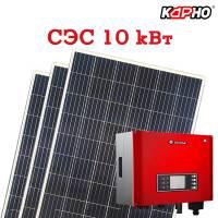 Комплект для самостоятельного монтажа солнечной электростанции 10 кВт