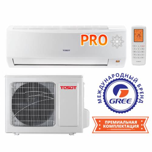 Тепловой насос TOSOT North Inverter PRO GK-24NPR