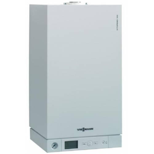 Двухконтурный газовый конденсационный котел Viessmann Vitodens 100-W B1KC033 35кВт