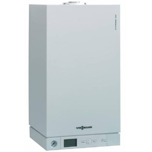 Двоконтурний газовий конденсаційний котел Viessmann Vitodens 100-W B1KC032 26кВт