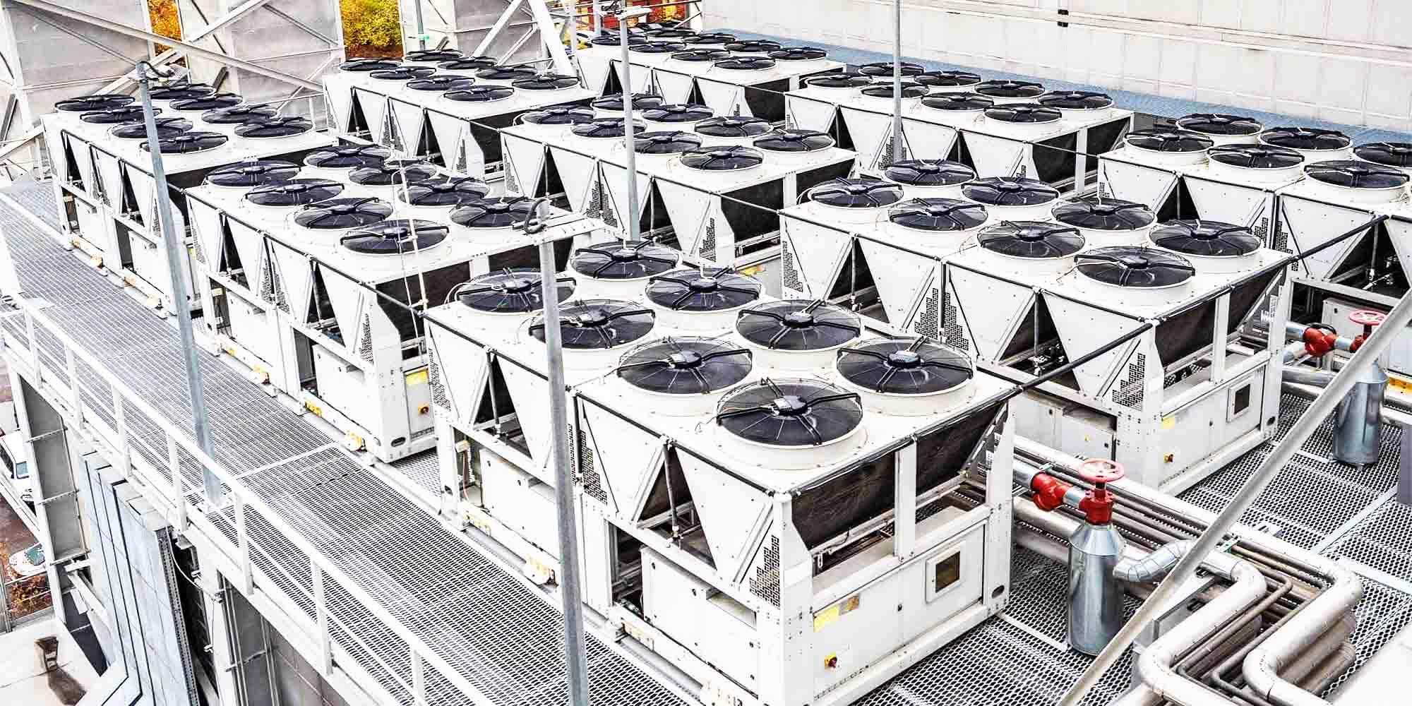 промышленный кондиционер - модульная установка