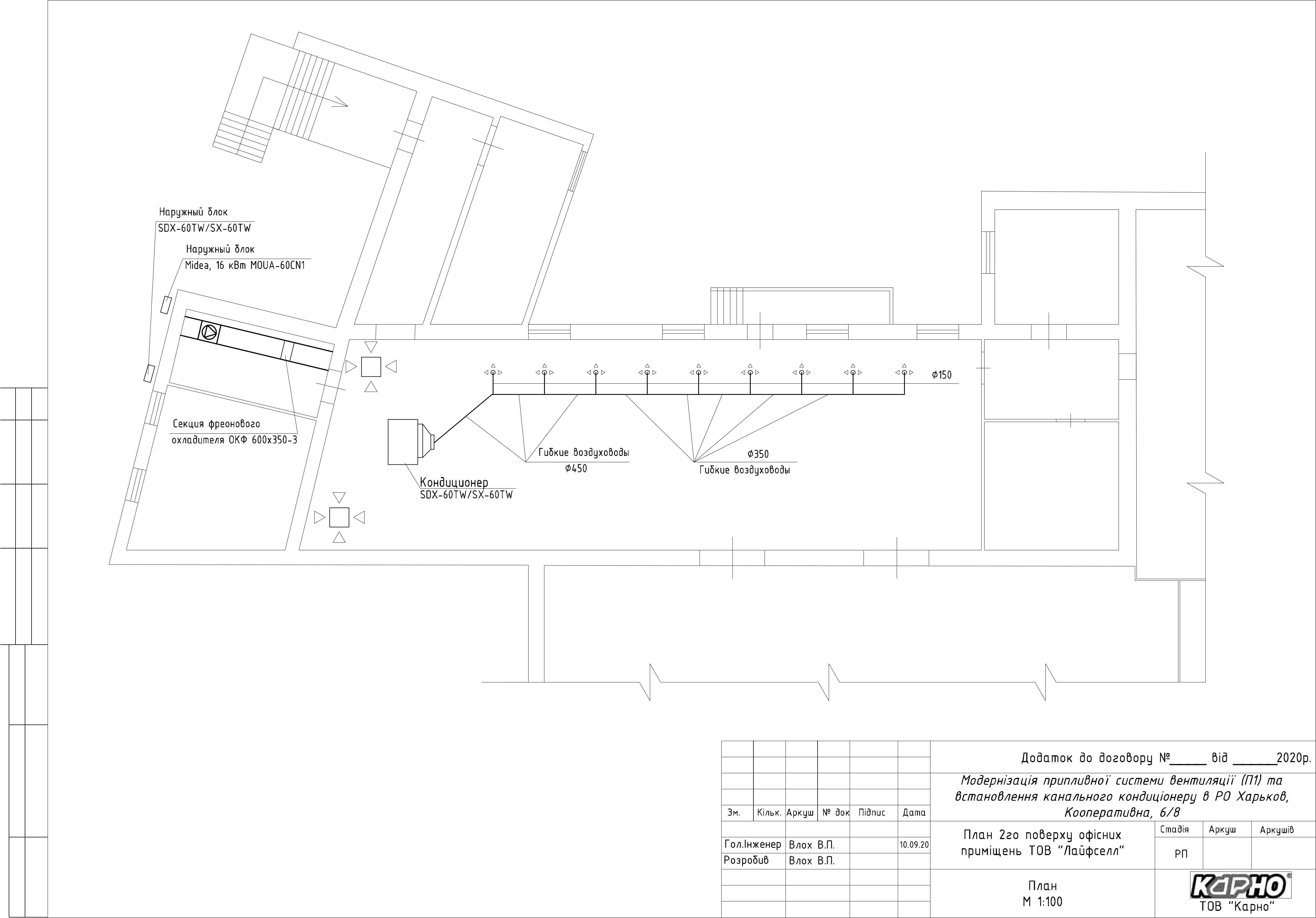 Проектирование и монтаж вентиляции офиса