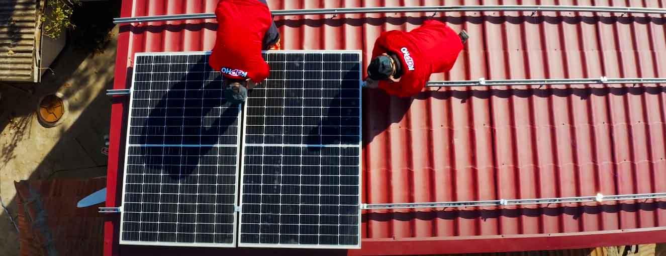 """Сонячна електростанція під """"зелений"""" тариф 5 кВт"""