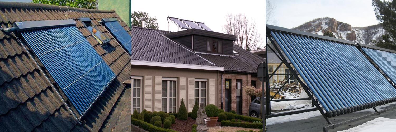 вакуумный солнечный коллектор - сферы применения