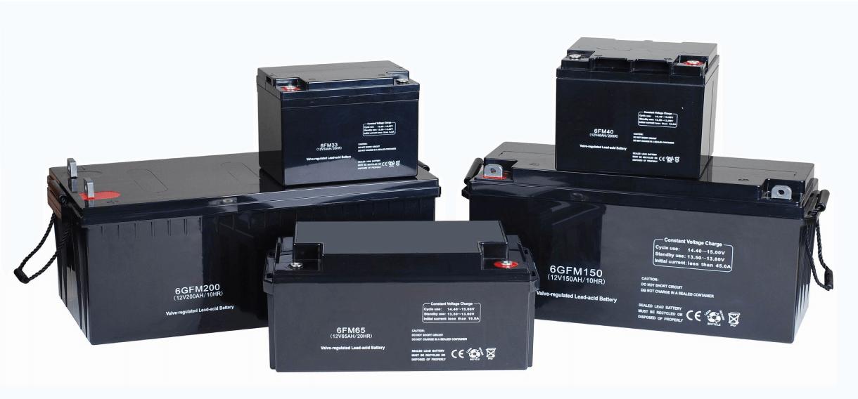 Аккумуляторы для Солнечных Батарей и Станций