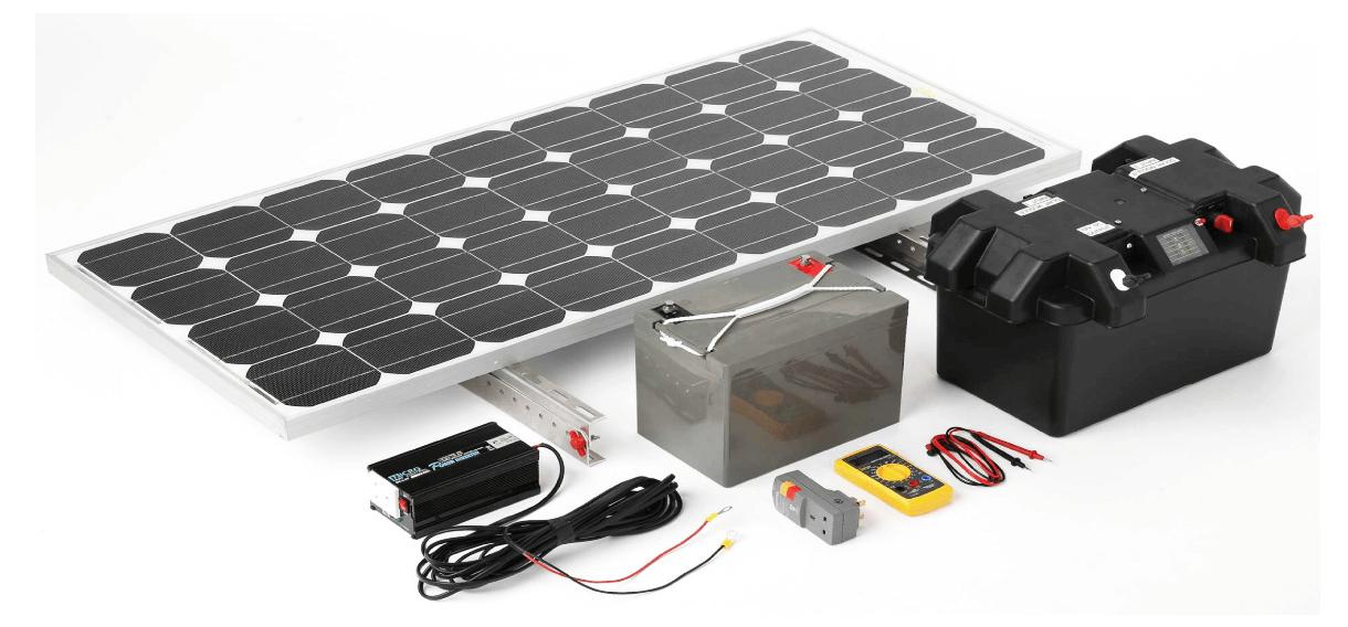 Комплектуючі для Сонячних Батарей і Станцій