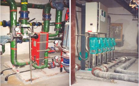 Объекты и работы по монтажу и наладке систем отопления, вентиляции, холодоснабжения, холодного и горячего водоснабжения