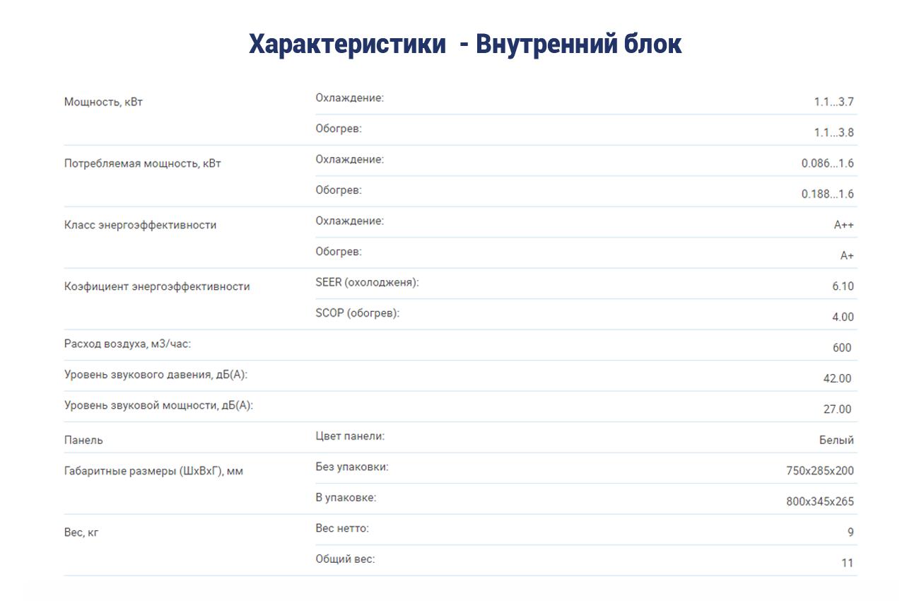 Инверторный кондиционер AUX ASW-H18A4-DI