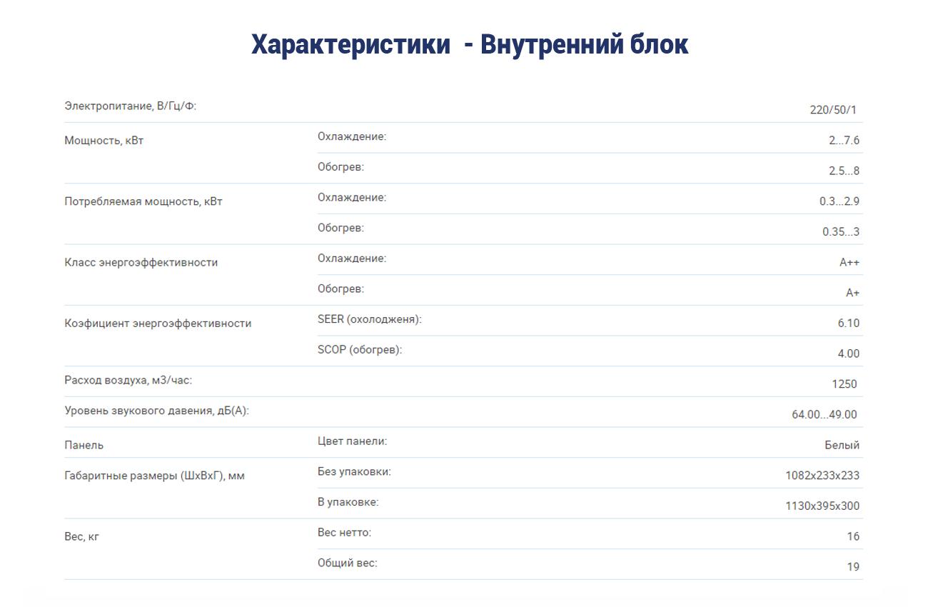 Инверторный кондиционер AUX ASW-H24A4-DI
