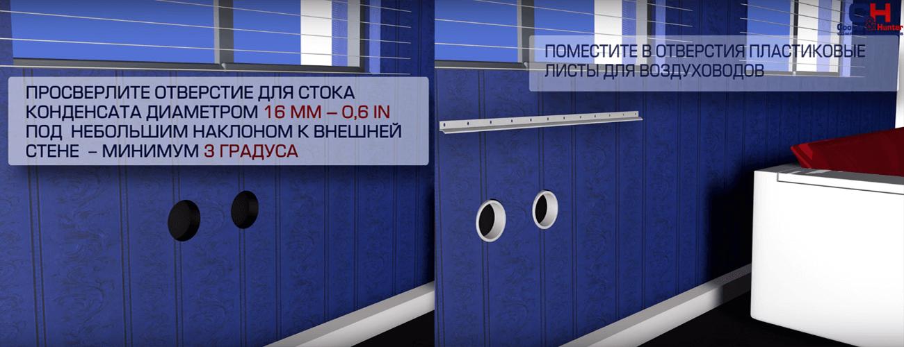 Инверторный кондиционер моноблок Cooper&Hunter CH-VC13TH