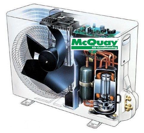Запчастини для кондиціонерів McQuay / Acson