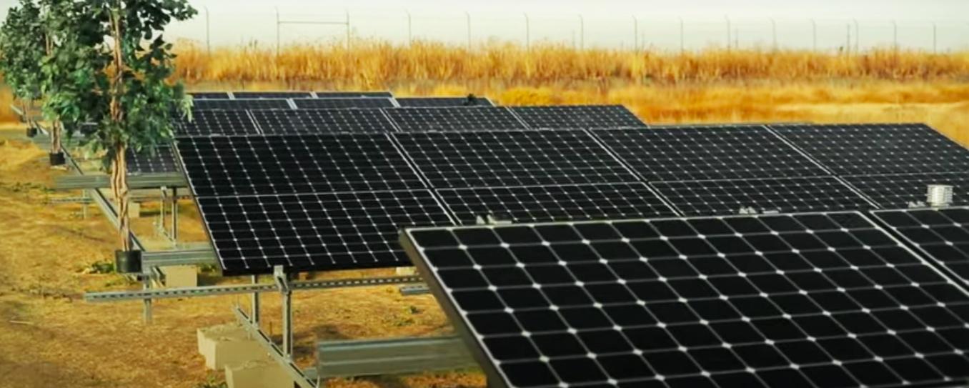 Солнечная электростанция для предприятия под собственное потребление 100 кВт